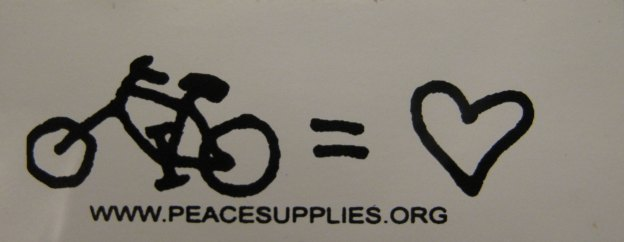 Bike sticker from Tucson, Arizona