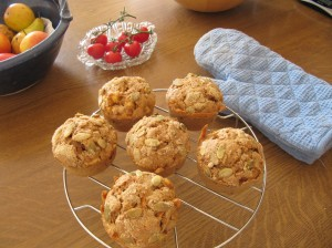 Spelt breakfast muffins